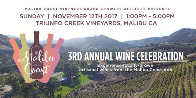 Wine festival in Malibu